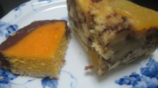 IMG 0078 320x180 - 北海道のタルトかぼちゃチョコとりんごのケーキ