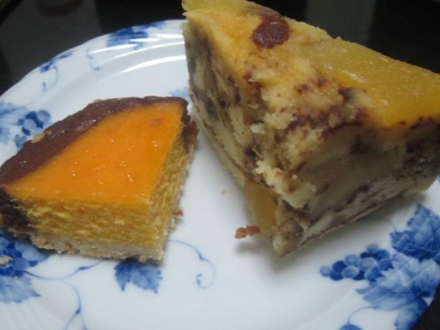 IMG 0078 - 北海道のタルトかぼちゃチョコとりんごのケーキ