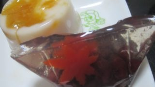 IMG 0113 320x180 - 杏の雫(杏仁豆腐)と暦菓子 紅葉散策