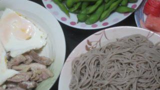 IMG 0006 320x180 - 江丹別な蕎麦と目玉焼きと枝豆と山芋の漬物