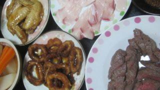 IMG 0026 320x180 - 白老牛のモモ肉を焼いてステーキとかしてみました