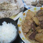 IMG 0016 150x150 - ヒラメの酒蒸しと豚タン&鶏モノ肉のキャベツ炒め