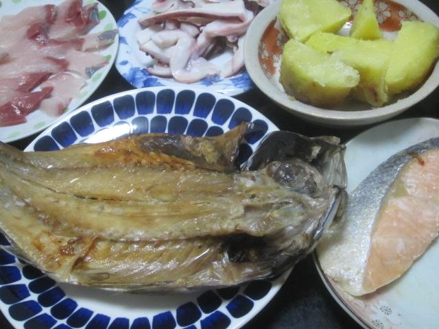 IMG 0046 - 紅丸というジャガイモにイカの塩辛乗せて食べてみた