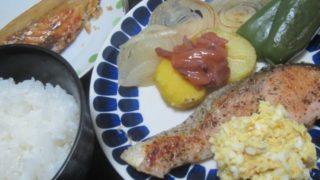 IMG 0048 320x180 - 紅丸とインカのめざめの食べ比べ / 主食はサーモンのむにえる