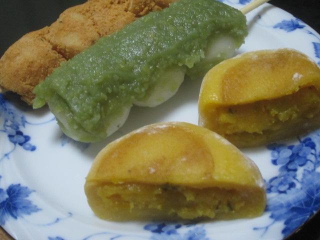 IMG 0049 - 一久六福堂のかぼちゃ大福とその他いろいろな茶菓子の買い物な戦利品