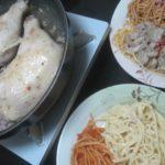 IMG 0059 150x150 - パスタ各種と久しぶりの骨付き鶏モモ肉の蒸し焼き