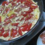 IMG 0003 150x150 - チーズとトマトを大量に乗せての自宅ピザとスモークサーモン