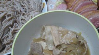 IMG 0024 320x180 - 肉豆腐の汁がたんまり残ったので蕎麦つゆの代わりにしてみた