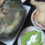 IMG 0046 150x150 - 地鶏をタマネギと共に蒸し焼きにして焼きそば投入