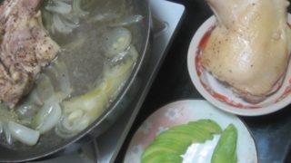 IMG 0046 320x180 - 地鶏をタマネギと共に蒸し焼きにして焼きそば投入