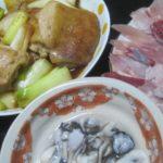 IMG 0053 150x150 - ネギたっぷりの鶏モモ肉の照り焼きにカキとブリ
