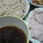 IMG 0036 150x150 - 鶏皮を甘辛炒めして出た汁を使った蕎麦つゆと豚しゃぶご飯