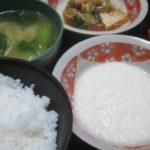 IMG 0052 150x150 - 長芋の摩り下ろしとろろご飯と豊富牛乳バニラプリン