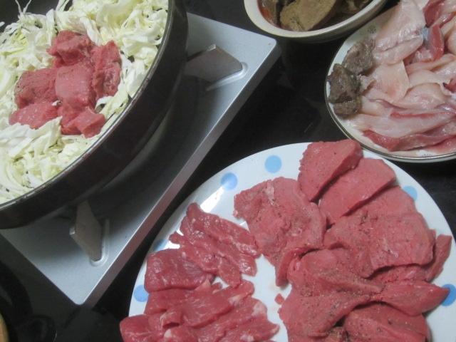 IMG 0005 - 北海道ラムとオージー牛モモ肉でのキャベツ焼肉