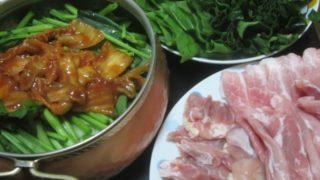 IMG 0017 320x180 - 小松菜白菜にサラダほうれん草で豚しゃぶ鍋