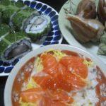 IMG 0030 150x150 - 稚内産の大きな青ツブ貝(ヒメエゾボラ)の酒蒸しと鯖寿司
