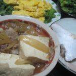 IMG 0033 150x150 - ブリカマと肉豆腐と葉モノ野菜をサラダと炒めで