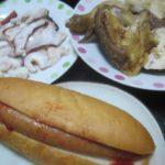 IMG 0036 150x150 - タコ頭のお刺身と鶏の半身揚げとケチャップソーセージパン