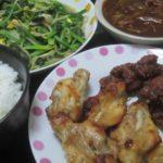 IMG 0059 150x150 - 鶏モモ肉と手羽元のから揚げと小松菜もやし炒め
