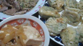 IMG 0019 320x180 - 肉豆腐と餃子と昨日の残りのジンギスカン野菜炒め
