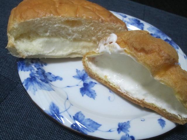 IMG 0038 - とよとみミルクのバニラシューにレアチーズクリームパン