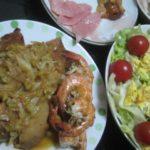 IMG 0063 150x150 - レタス1玉でミニトマトサラダや鶏肉との炒め物でシャキシャキご飯