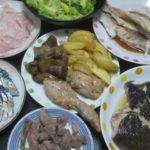 IMG 0075 150x150 - カレイの塩焼きとブリのアラからとった刺身としめ鯖と