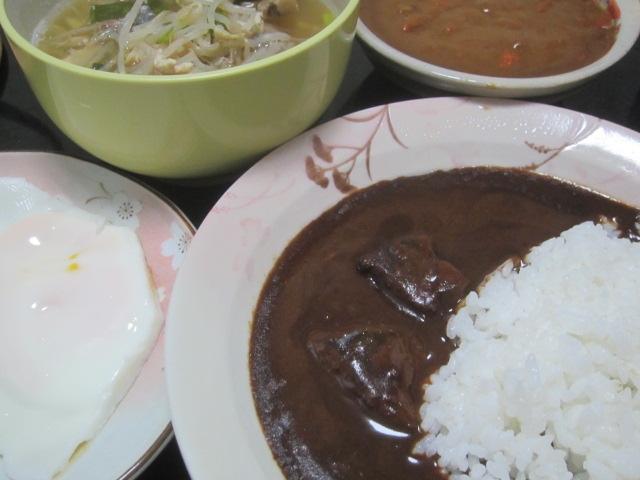 IMG 0099 - 北海道産豚肉のスパイスポーク黒カレー【北海道ご当地カレーPart19】