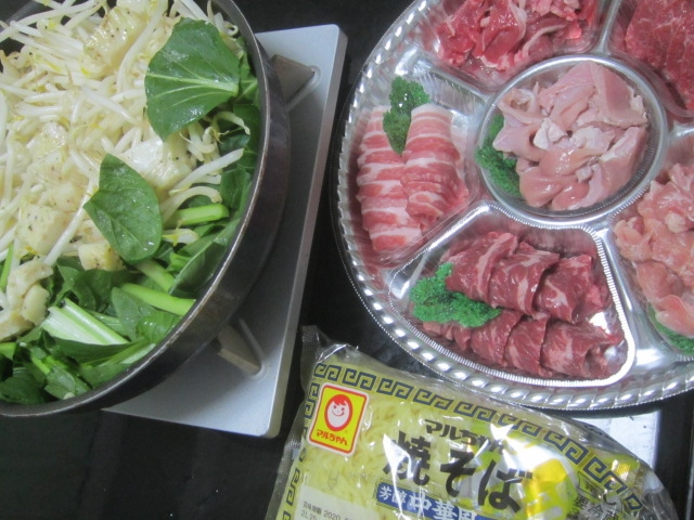 IMG 0160 - お肉の焼肉と海鮮な焼肉とアンコウのから揚げ