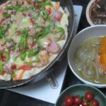 IMG 0254 150x150 - ミニトマトを大量買いしたのでサラダとピザとスープで頂きます