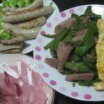 IMG 0283 150x150 - 豚ハツとピーマンの炒め物に豚ソーセージに豚レバー