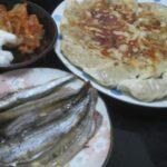 IMG 0381 150x150 - ワタリガニの味噌鍋と山芋とろろにアジのお刺身