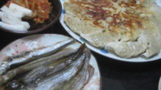 IMG 0381 320x180 - ワタリガニの味噌鍋と山芋とろろにアジのお刺身