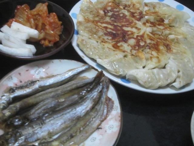 IMG 0381 - ワタリガニの味噌鍋と山芋とろろにアジのお刺身