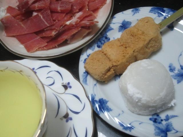 IMG 0393 - 水菜いっぱいの牡蠣鍋で豚しゃぶしたりブリしゃぶしたり