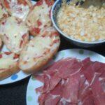 IMG 0398 150x150 - たっぷり卵フィリングと生ハムをクッペピザに載せて