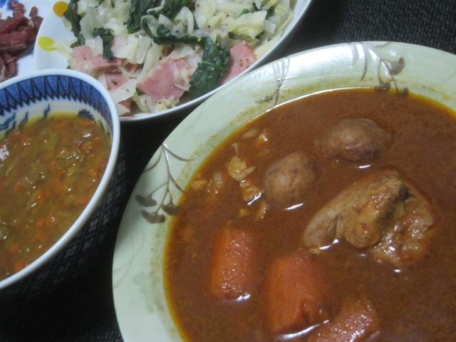 IMG 0416 - 札幌スープカリー木多郎チキン【北海道ご当地カレーPart23】