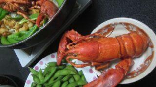 IMG 0426 320x180 - オマール海老は中身も食べた後の殻入り味噌汁も絶品でした