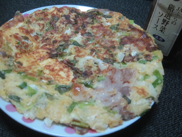 IMG 0534 - 沖縄の島とうふ買ってお好み焼きに入れて食べてみた