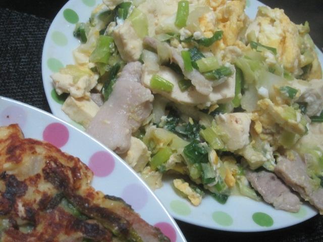 IMG 0536 - 沖縄の島とうふ買ってお好み焼きに入れて食べてみた