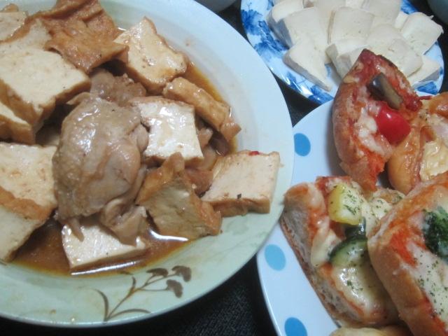 IMG 0583 - 去年の漬物を白菜しゃぶしゃぶで全部消費できました / カマンベールピザ