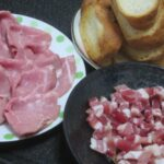 IMG 0734 150x150 - ローストポークと生ハムと焼いたフランスパン