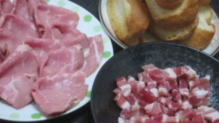 IMG 0734 320x180 - ローストポークと生ハムと焼いたフランスパン