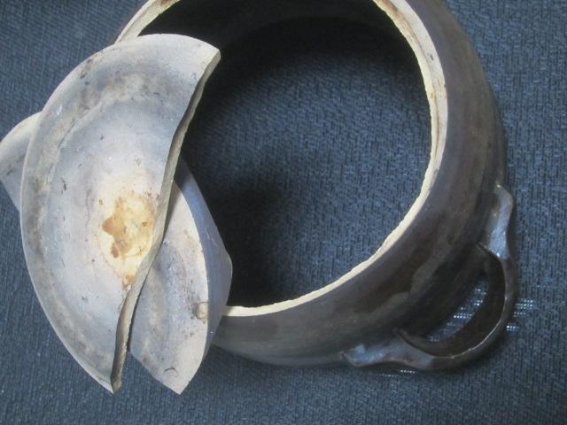 IMG 0749 - 土鍋(土釜)の底が抜けたので普通にステンレスな鍋で炊飯