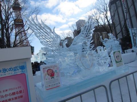 IMG 0018 480x360 - 2015年 さっぽろ雪祭りPart2 ~日曜日は雨でヒドイ目に~