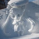 2015年 さっぽろ雪祭りPart3 ~雪ミク / きゅうべえ / 小雪像~