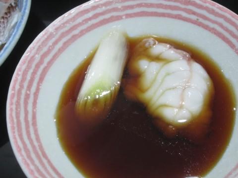 IMG 0083 480x360 - 鯛と鮟鱇を鍋にして混ぜて雑炊しました