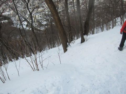 IMG 0121 480x360 - 冬の雪山登山に挑戦 / 円山に登ってきましたPart2