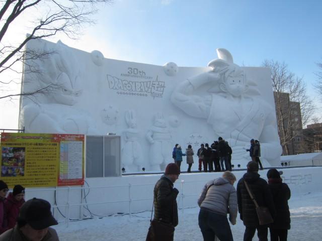 IMG 0009 640x480 - 初日から行ってきました、大雪像からご紹介【札幌雪祭り2016Part01】