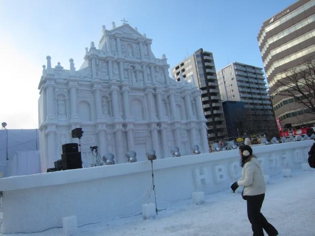 IMG 0014 640x480 - 初日から行ってきました、大雪像からご紹介【札幌雪祭り2016Part01】